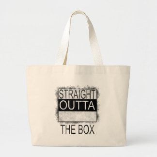 Bolsa Tote Grande Outta reto a caixa
