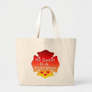 Bolsa Tote Grande Pai do sapador-bombeiro