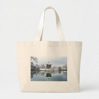 Bolsa Tote Grande palácio do asiático do gyeongbok