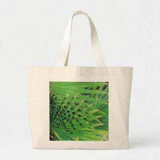 Bolsa Tote Grande Palma de fã