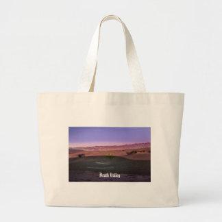 Bolsa Tote Grande Parque nacional de Vale da Morte do nascer do sol