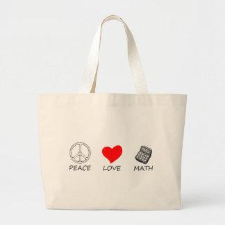 Bolsa Tote Grande paz love5