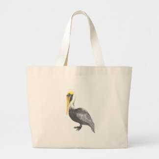 Bolsa Tote Grande Pelicano de Brown