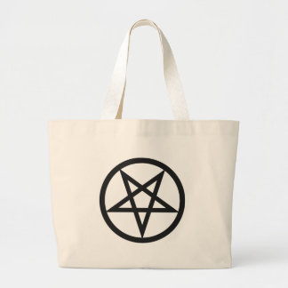 Bolsa Tote Grande Pentagram corajoso