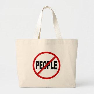 Bolsa Tote Grande Pessoas de pessoas de /No do ódio permitidas a