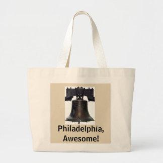 Bolsa Tote Grande Philadelphfia, impressionante! /Sacola de Liberty