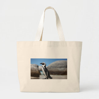 Bolsa Tote Grande Pinguim africano