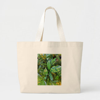Bolsa Tote Grande Planta do Croton