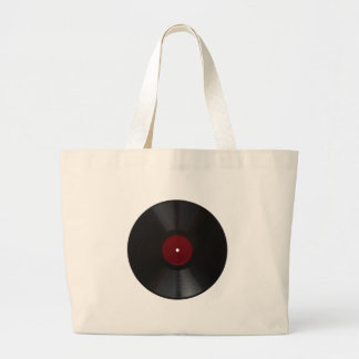 Bolsa Tote Grande Png transparente gravado RPM do vintage 78