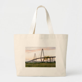Bolsa Tote Grande Ponte de Charleston South Carolina - rio do