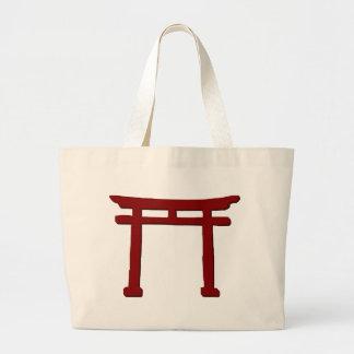 Bolsa Tote Grande Porta xintoísmo