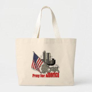 Bolsa Tote Grande Pray para América
