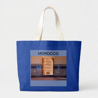 Bolsa Tote Grande Presente original, bonito e útil de Marrocos