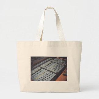 Bolsa Tote Grande Pro estúdio do áudio da música do console do