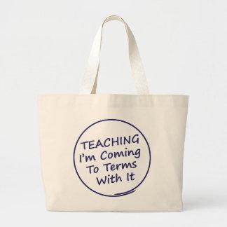 Bolsa Tote Grande Professor engraçado