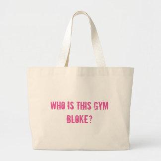Bolsa Tote Grande Quem é este gajo do gym?