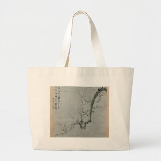 Bolsa Tote Grande Ramo da ameixa - Yi Yuwon