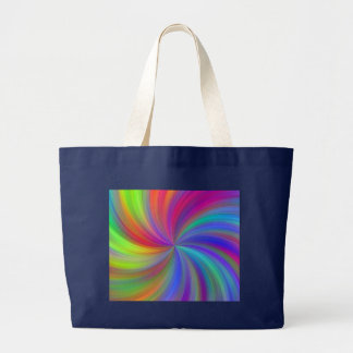 Bolsa Tote Grande redemoinho colorido