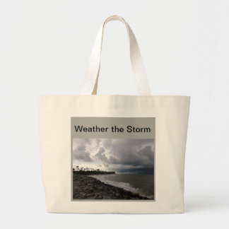Bolsa Tote Grande Resista ao saco da tempestade