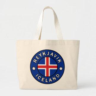 Bolsa Tote Grande Reykjavik Islândia