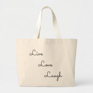 Bolsa Tote Grande riso vivo do amor