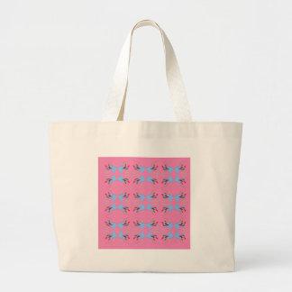 Bolsa Tote Grande Rosa do ethno dos elementos do design