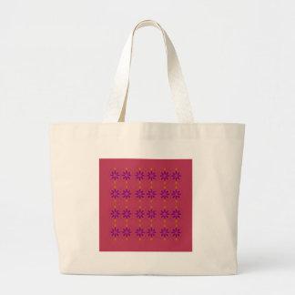 Bolsa Tote Grande Rosa dos elementos do design