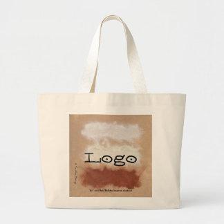 Bolsa Tote Grande Rothko inspirou o abstrato temperado da garganta