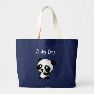 Bolsa Tote Grande Saco do bebê da panda