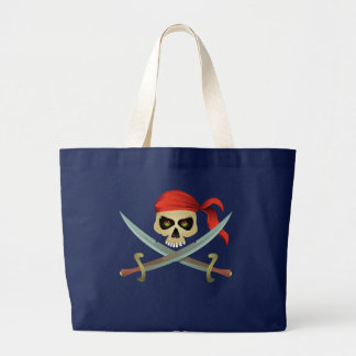 Bolsa Tote Grande Saco do pirata