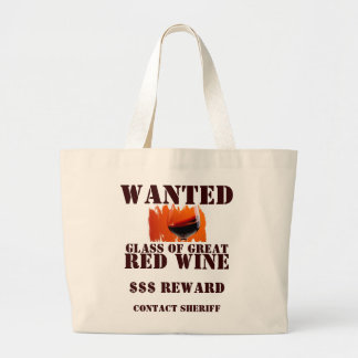 Bolsa Tote Grande Saco querido do vinho tinto!