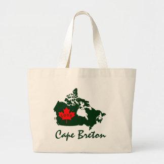 Bolsa Tote Grande Sacola customizável bretão da província do amor do