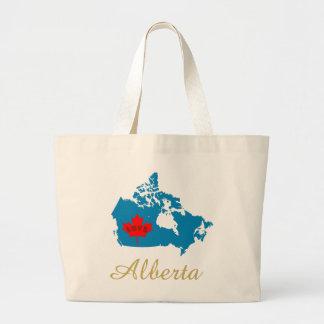 Bolsa Tote Grande Sacola customizável da província de Canadá do amor