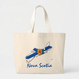 Bolsa Tote Grande Sacola customizável de Nova Escócia Canadá do amor
