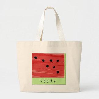 Bolsa Tote Grande Sacola da melancia