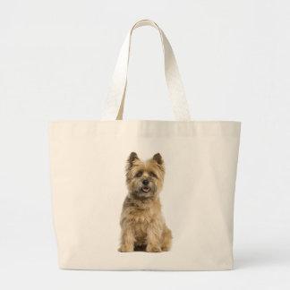 Bolsa Tote Grande Sacola das canvas do cão de filhote de cachorro de