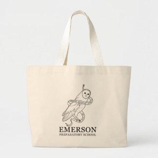 Bolsa Tote Grande Sacola de Emerson (coruja)
