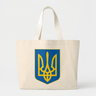 Bolsa Tote Grande Sacola de Tryzub do ucraniano
