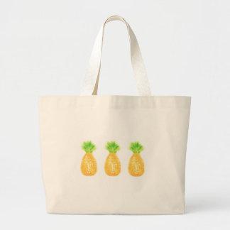Bolsa Tote Grande Sacola do jumbo do abacaxi