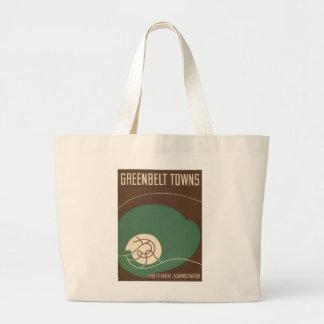 Bolsa Tote Grande Sacola do museu do cinturão verde