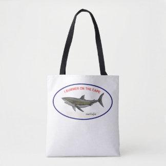 Bolsa Tote grande sacola do tubarão branco