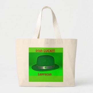 Bolsa Tote Grande Sacola irlandesa da sorte