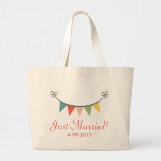 Bolsa Tote Grande Sacola personalizada recem casados