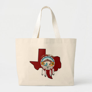Bolsa Tote Grande Sacola tribal do jumbo de Texas do protetor
