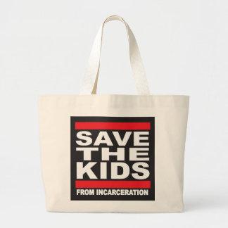 Bolsa Tote Grande Salvar o saco grande dos miúdos