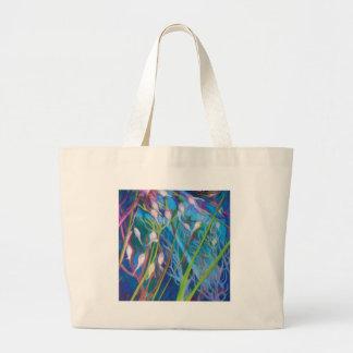 Bolsa Tote Grande Santuário do Sagebrush com grama selvagem