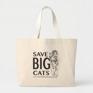 Bolsa Tote Grande SaveBigcats