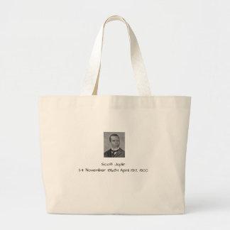 Bolsa Tote Grande Scott Joplin