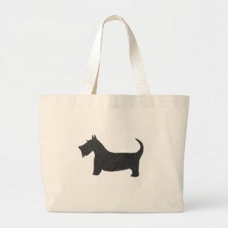 Bolsa Tote Grande Scottish Terrier