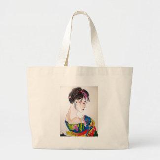 Bolsa Tote Grande Senhora com quimono